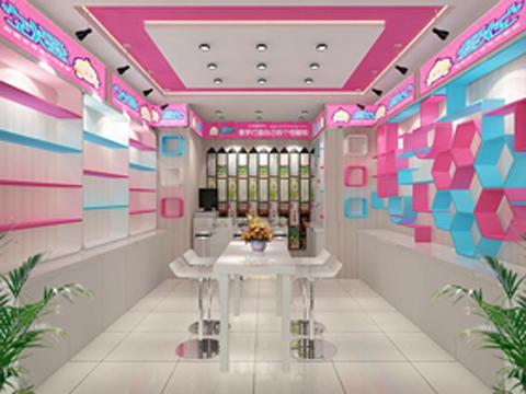 配合规范的品牌形象,提供统一店面设计效果图