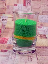 DIY蜡烛沙蜡竹节