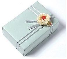 烛生活倾斜厚礼盒包装方法DIY教