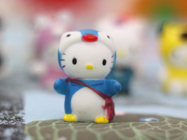 因此这只系上红色蝴蝶结的小白猫便出现在时尚前沿的