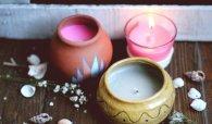简易陶罐蜡烛的