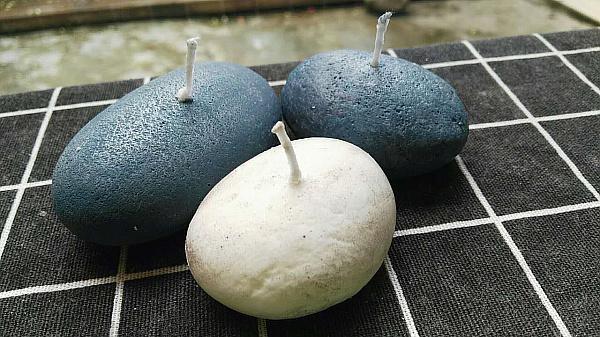 酷酷超仿真石头手工蜡烛DIY全新上市