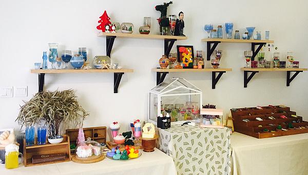 一家有创意的蜡烛DIY小店如何布置呢?
