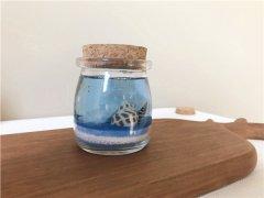 烛生活儿童手工乐园果冻蜡烛作品海底的世界