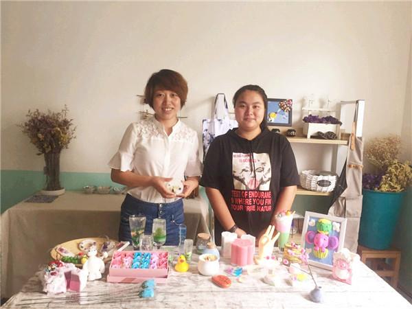 烛生活DIY创意坊的房店长总部基地培训分享