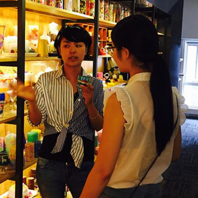 刘琴女士签约烛生活创意蜡烛手工店