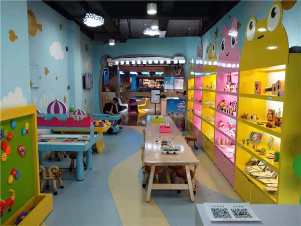 烛生活儿童手工项目新加盟店开张啦!