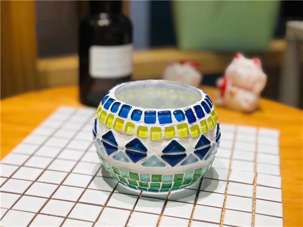 波西米亚系列烛生活琉璃烛台DIY